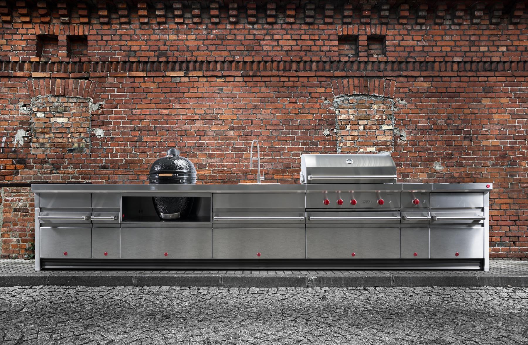 Impression Wolfoutdoorkitchencom - Red stone outdoor kitchen